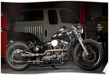 Evolution's Custom 1973 Iron Head Sportster by HoskingInd