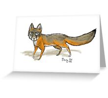 Canadian Fox Greeting Card