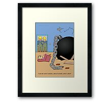 Ball Retrieval Framed Print