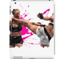 Holm Schooled pink splatter iPad Case/Skin