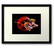 The Cheetah Framed Print