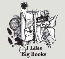 I Like Big Books | Unisex T-Shirt