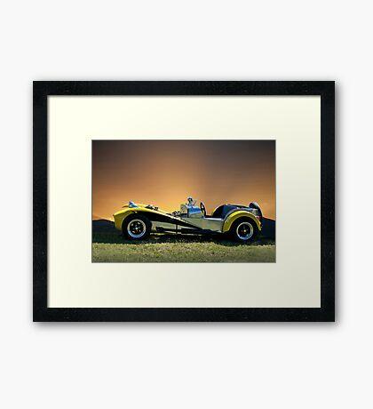 1964 Lotus Super 7 Framed Print