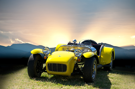 1964 Lotus Super 7 by DaveKoontz