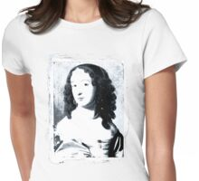 Moaning Lisa Womens Fitted T-Shirt