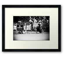 What happens now Framed Print