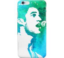 blue/green profile iPhone Case/Skin