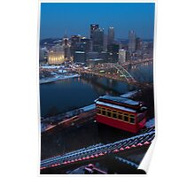 Pittsburgh and the Duquesne Incline Poster