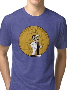 two face plumber Tri-blend T-Shirt