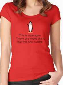 Your Tall Penguin Women's Fitted Scoop T-Shirt