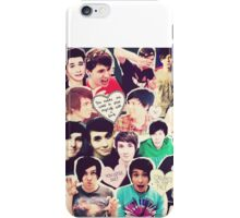 <3 Phan Cuteness Collage <3  iPhone Case/Skin