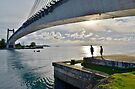 Japan-Palau Peace Bridge by Randy Richards