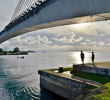 Japan-Palau Peace Bridge by Randy Richards