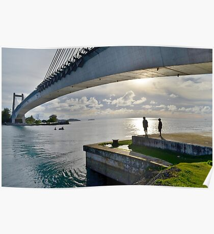 Japan-Palau Peace Bridge Poster