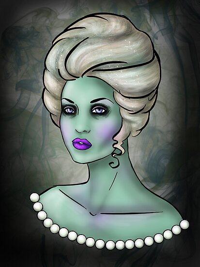 Zombie Queen by CatAstrophe