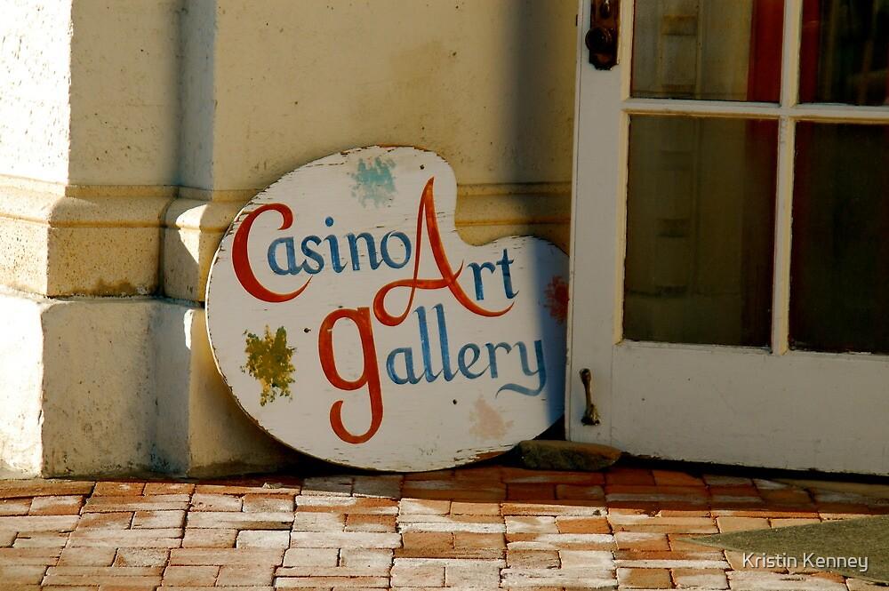 Casino Art by Kristin Kenney