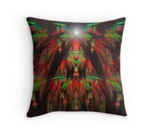 Guardians of the Temple Throw Pillow