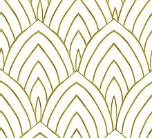 Gold Art Deco by romilia