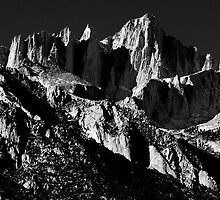 MT Whitney BW by Chris Whitney