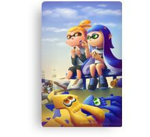Splatoon: After the Battle Canvas Print