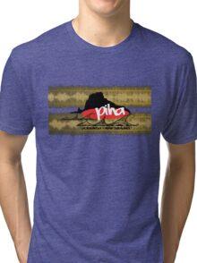 piha / lion rock tribal waves  Tri-blend T-Shirt