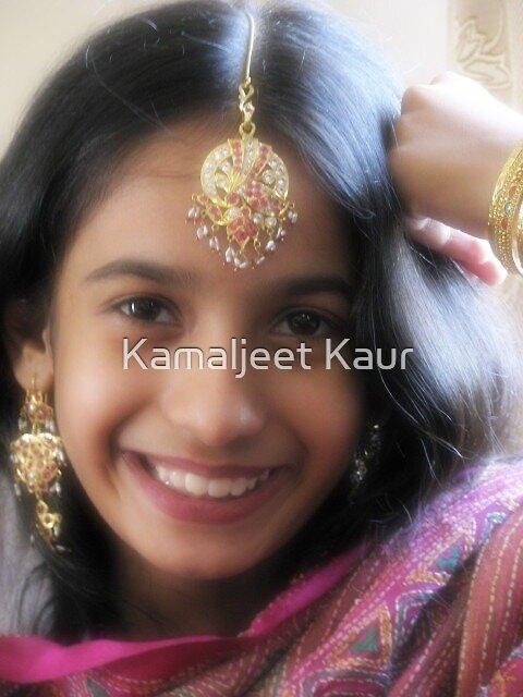 My darling daughter Sehaj! by Kamaljeet Kaur