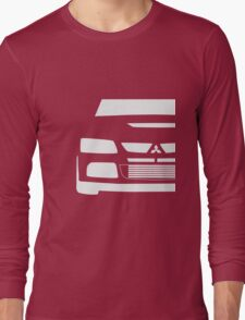Mitsubishi Lancer Evolution Close Up Zoom - T Shirt / Phone Case Design  Long Sleeve T-Shirt