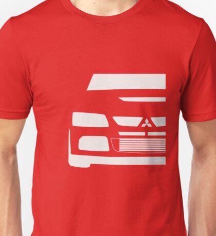 Mitsubishi Lancer Evolution Close Up Zoom - T Shirt / Phone Case Design  Unisex T-Shirt