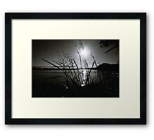 Reflections in Monochrome Framed Print
