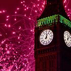 New Years Eve Fireworks London 2010 by Colin J Williams Photography