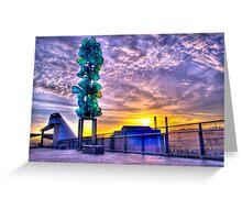 Tacoma Washington Sunrise Greeting Card