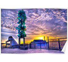 Tacoma Washington Sunrise Poster