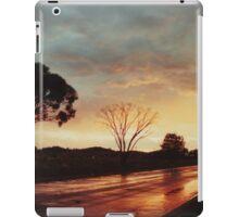 Wet Outback sunset iPad Case/Skin