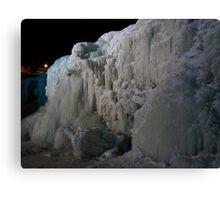Ice Falls Canvas Print