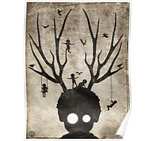 Deer imaginary friends Poster