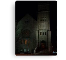 First Congregational Church Canvas Print