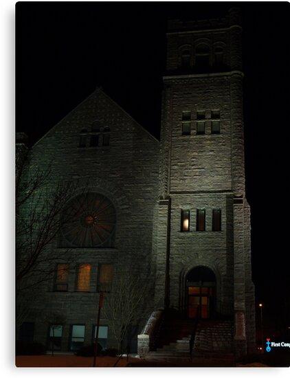 First Congregational Church by Scott Hendricks