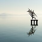 Floating sculpture, Passignano sul Trasimeno, Umbria by Andrew Jones