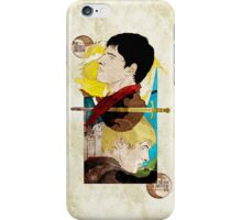 The King and His Sorceror iPhone Case/Skin