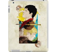 The King and His Sorceror iPad Case/Skin