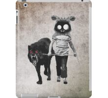 out for walk iPad Case/Skin