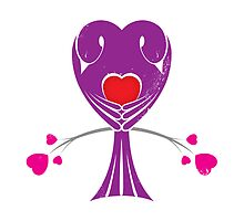 Love Birds 'Purple Heart' by Christopher Richards