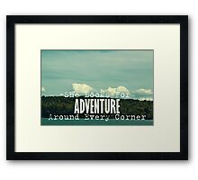 She Looks for Adventure  Framed Print