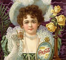 Coca Cola Advertisement  by Ernest Mohs