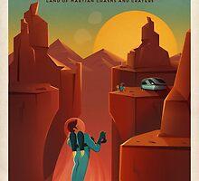 Valles Marineris by heist