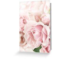 Pastel Pinks Greeting Card