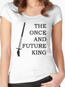 The Once And Future King Ver. 2 Women's Fitted Scoop T-Shirt