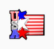 USA flag w/ stars by Valxart Unisex T-Shirt