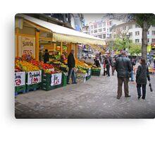 A market in Ankara. Canvas Print