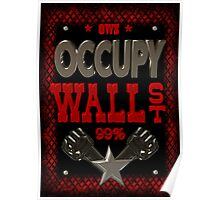 Occupy Wall Street poster by Valxart Poster